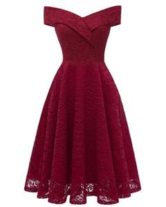 Bordo Gelinlik Modelleri 2019 Junior Hizmetçi Onur Törenlerinde Örgün Pleats Düğün Konuk Elbise Dantel Tül Karışık Siparişler Vestido de novia