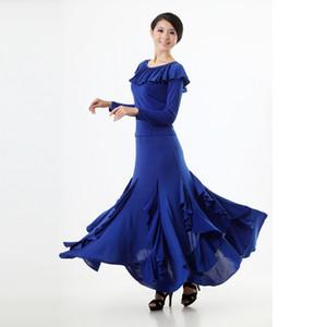 Renkli moden dans etek yeni moden dans bayanlar suit yarım vücut etek elbise ulusal standart eğitim