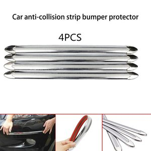 4 PCS Bord De Voiture Anti-collision Bande Protecteur De Protecteur De Protection Barre De Protection Anti-Frotter Grattez Détail Bumper Crash Styling Moulures