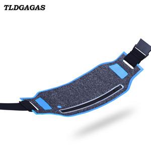 TLDGAGAS 2018 Ultra-fino Colorido Unisex Saco Da Cintura Do Telefone Lycra Material Cinto respirável Saco Para A Execução de Bolso Ao Ar Livre Esportes