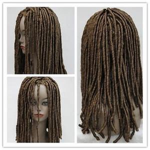 HIP-HOP 레게 블랙 Dreadlocks 가발 가장 위 Braids Cosplay Party Wig Hair