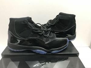 avec Box nouvelle arrivée 11 Prom Night Hommes femmes Chaussures de Basketball casquette et robe blackout 11s noir gamma bleu Baskets de sport Baskets eur36-45