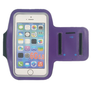 Actividades al aire libre Bolsa para correr Fundas para teléfono Brazalete deportivo Correa para el brazo Cubierta de cinturón Bolsas ajustables adecuadas para teléfonos de 5-6 pulgadas