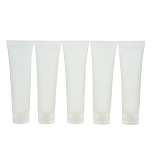 Wholesale Travel Empty Clear Tube Cosmetic Cream Lotion Containers Refillable Bottles 20ml  30ml  50ml  100ml 5pcs lot