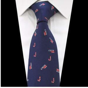 JEMYGINS новый рождественский галстук сапоги Prinetd 8 см шелковый галстук Corbatas Vestidos снег шаблон галстук зеленый шеи галстуки