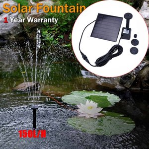 Солнечные фонтанный насос монокристаллического кремния Mini Solar Water Pump Power Panel Kit Энергосберегающие Погружной Солнечные водяные насосы