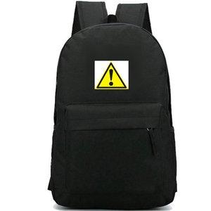 Warnrucksack Gefahrensymbol Daypack Straßenschultasche Good Badge Rucksack Sport Schultasche Outdoor Tagesrucksack