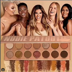 DHL Freeshipping Palette per ombretti Laura 14 Colori New Lee los angeles nudie patootie Trucco naturale a lunga durata