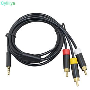 1.8 m 6ft rca 480i cabo de áudio e vídeo de cabo digital adaptador av cabo digital para microsoft para xbox 360 e consola de vídeo game