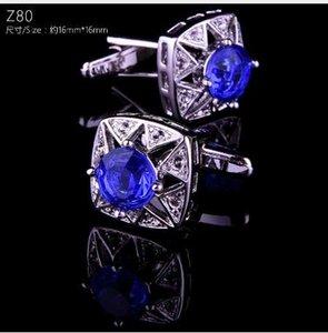 Boutons de manchette de luxe pour hommes papa cadeaux boussole manchette boutons arbre de noël mariage bijoux en cristal chemise boutons de manchette de haute qualité