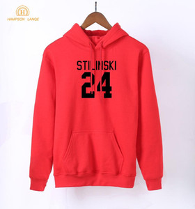 HAMPSON LANQE Teen Wolf Stilinski 24 Print  Hooded Women 2018 Spring Autumn Long Sleeve Sweatshirts Kpop Hoodies Pullovers