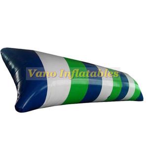 6x2m vente chaude eau blob sauter oreiller gonflable jeu d'eau jouet 0.9mm PVC gonflable blobs à vendre livraison gratuite