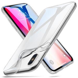 Ultrathin Trasparente Soft TPU Custodia in Gel CROSSTAL CROSSA CROSSINO per iPhone X XS Max XR 8 7 6 Plus Samsung S9 S8 S10 S10E Nota 9
