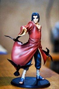 나루토 그림 Uchiha Itachi 액션 피규어 Figura Pvc 나루토 Itachi 컬렉션 모델 Anime 작은 입상 17CM