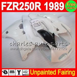 8Gifts неокрашенный полный комплект обтекатель для Yamaha FZR250R 1989 89 ФЗР 250р 1989 Ямаха fzr250 работает Р 250 р ФЗ ФЗ-250р 1989 89 обтекатели кузова тела