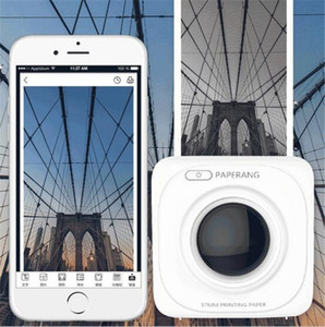 PAPERANG P1 Mini impresora térmica Bluetooth 4.0 Teléfono de recibo portátil Etiqueta inalámbrica Impresoras fotográficas blanco negro 1000 mAh Iones de litio 1PCS