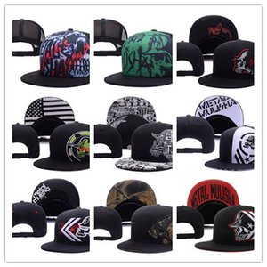 Top vente métal Party Trucker Snapback Hat noir cool Sports Chapeaux casquettes, vente en gros de nouveaux hommes mode réglable Snapbacks Cap Hat