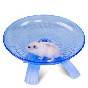 Pequeños juguetes para mascotas Ratón de plástico divertido Rueda de hámster Rata Correr Jugar Juguetes para correr Ruedas de ejercicio