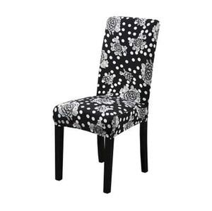 Dreamworld Printed Chair Covers Spandex Elastic Chair Cover per Matrimoni Computer Office Stretch Seat Covers Cina Sala da pranzo