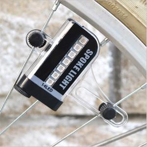 Noite Ciclismo Luzes da bicicleta Choque Roda Sensor Falou Led Lamp Dois Luz bicicleta Sided Indução Montanha Decoração 12 5yt jj