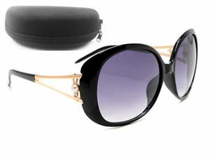 Fashion Alloy Fox Charm Occhiali da sole polarizzati Donne designer del marchio Polaroid Occhiali da vista sfumati oculos de sol feminino