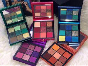 Новые горячие макияж бренд красоты палитра 9 цвет мини тени для век палитра 5 стиль звезда цвета тени для век DHL доставка
