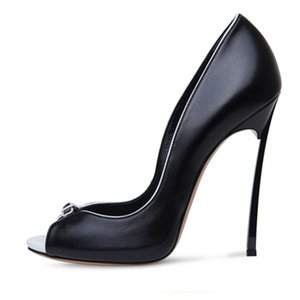 Pumps New On Shoes Peep Toes Women Fashion Slip Stiletto Trendy Heel 2021 Chic Shoes High Heels Metal Party Fhjhj