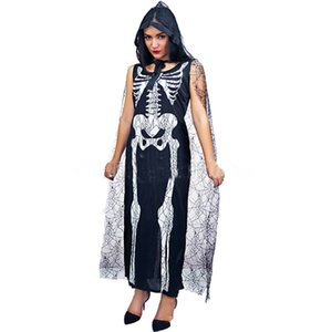 Halloween New 2018 Horror Vampir Geist Braut Cosplay Kleid Sexy Skeleton Kleidung Make-Up Party Ball Ghost Festival Kostüm