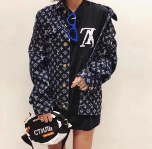 2019 Gelgit yepyeni üst sürümü yüksek kaliteli serin denim ceket erkekler ve kadınlar için maxi elbiseler kazak erkek gerçek kot