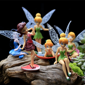 Hermoso Kawaii 12 Stück Modelle Fairy Garden Miniaturen Princess Crafts Miniatur Fee Figuren Gartendekoration R001