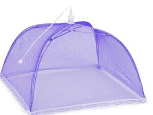كبير المنبثقة شبكة الشاشة غطاء الغذاء خيمة مظلة قابلة لإعادة الاستخدام وقابلة للطي في الهواء الطلق نزهة الغذاء يغطي شبكة غطاء الغذاء صافي