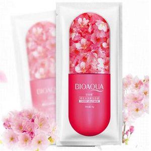 En stock Bioaqua Jelly Facial Masque Masque Hydratant Deep Hydrat Hydratant Masque Prévenir la myrtille Sakula Feuille de sommeil 8G