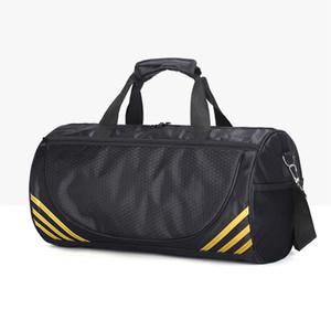 Toptan Yoga Çanta tek omuz çanta silindir Tekvando Sırt Çantası Seyahat Çantası spor Kiti Çantası Duffel Çanta