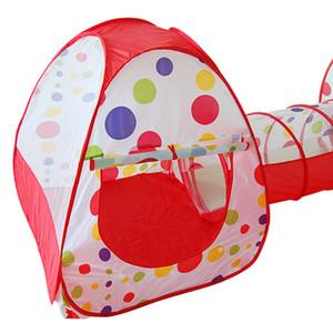 Portable Kids Play Tente Bébé Crawl Tunnel Extérieur Jardin Maison pour Enfants Enfants Pipeline Rampant Jeu Play House Baby Tent