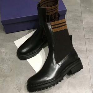 2018 Marka Moda Lüks Tasarımcı Kadın Ayakkabı Tasarımcısı Çizmeler Kadın Ayak Bileği Patik Ünlü Marka Parti Çizmeler Kış Açık Çizmeler DHL ...