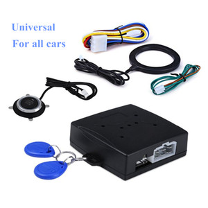 Car start stop button Engine Push Start Button Alarm lock Systems door poussoir drukknop  tactile buttons car-styling