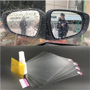 차 거울을위한 안개 / 비 / 물 필름 자동차 백미러 스티커 백미러 보호 필름 자동차 무료 배송