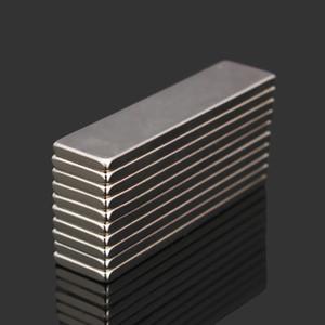 10pcs N35 40x10x2mm super forte blocco Cuboid Magneti in terre rare magneti al neodimio