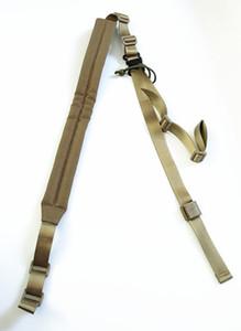 Rembourré MK2 Sling Tactical Gun Sling 2 Points Tactical Sling En Coyote Brown / Noir + Livraison gratuite