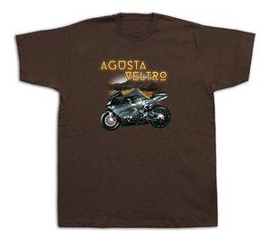 오토바이 Agusta veltro 산 눈 바위 Tshirts MV F4 Strada Pista Galfer