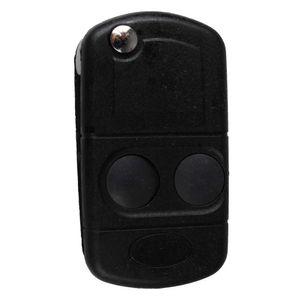 2 أزرار سيارة فليب استبدال مفتاح فليب البعيد فوب مفتاح شل القضية ل سيارة لاند روفر فريلاندر MK1 TD4 TD5