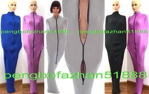 Bolsas de dormir unisex Disfraces de momias con mangas internas Nuevo 8 color Lycra Spandex Bolsas de cuerpo trajes de momia Traje unisex P310