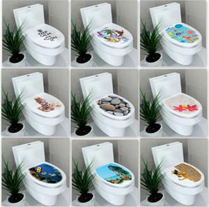 32 * 39 см стикер туалет туалет пьедестал Пан крышка туалет пьедестал туалет стул туалет крышка наклейки украшения дома аксессуары для ванной комнаты 9 стили