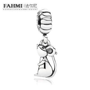 FAHMI 100% 925 Sterling Silver 1:1 Original 791104 Zodiac Authentic Temperament Fashion Glamour Retro Pendant Wedding Women Jewelry