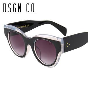 DSGN CO. 2018 celebridades Óculos de sol favoritos para homens e mulheres 8 Gato Cor dos olhos óculos de sol UV400