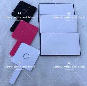 acrilico fashion brand cosmetico specchio portatile con scatola regalo bellezza strumento trucco toilette di lusso specchio boutique classico regalo di Natale VIP