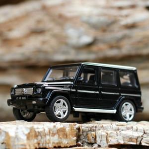 1:32 G65 SUV Off-road Araçlar Araba-styling Araba Modelleri Kaplama Oyuncak Makineleri Geri Çekin Işık Diecasts 'Metal Oyuncaklar Çocuklar Için