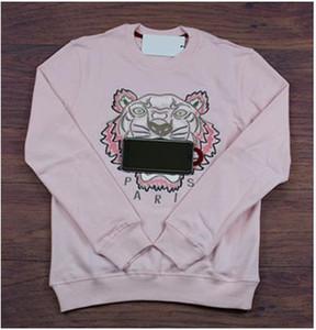 브랜드 Tiger Head Hoodie 수 놓은 남성 풀오버 스웨터 가을 봄 Unisex Hoodies 디자이너 캐주얼 Streetwear 고품질