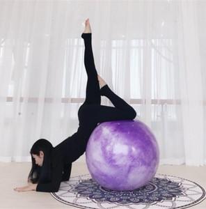 nuovi 65 centimetri yoga palla fitness pilates equilibrio allenamento sfere di esercitazione gonfiato la sfera di ginnastica strumenti di esercizio morbido PVC all'ingrosso