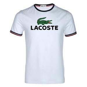 20SS Дизайнер Известные футболки для мужчин женщин O шеи бренд Lacoste рубашка роскошь одежда хлопок марка с коротким рукавом рубашки поло человек Топы тройники